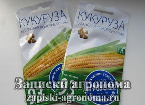 Сорт семян кукурузы